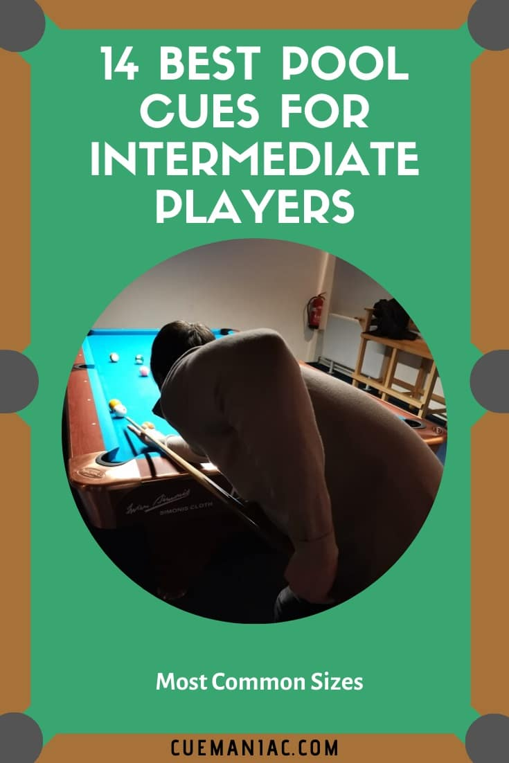 14 Best Pool Cues for Intermediate Players by CueManiac