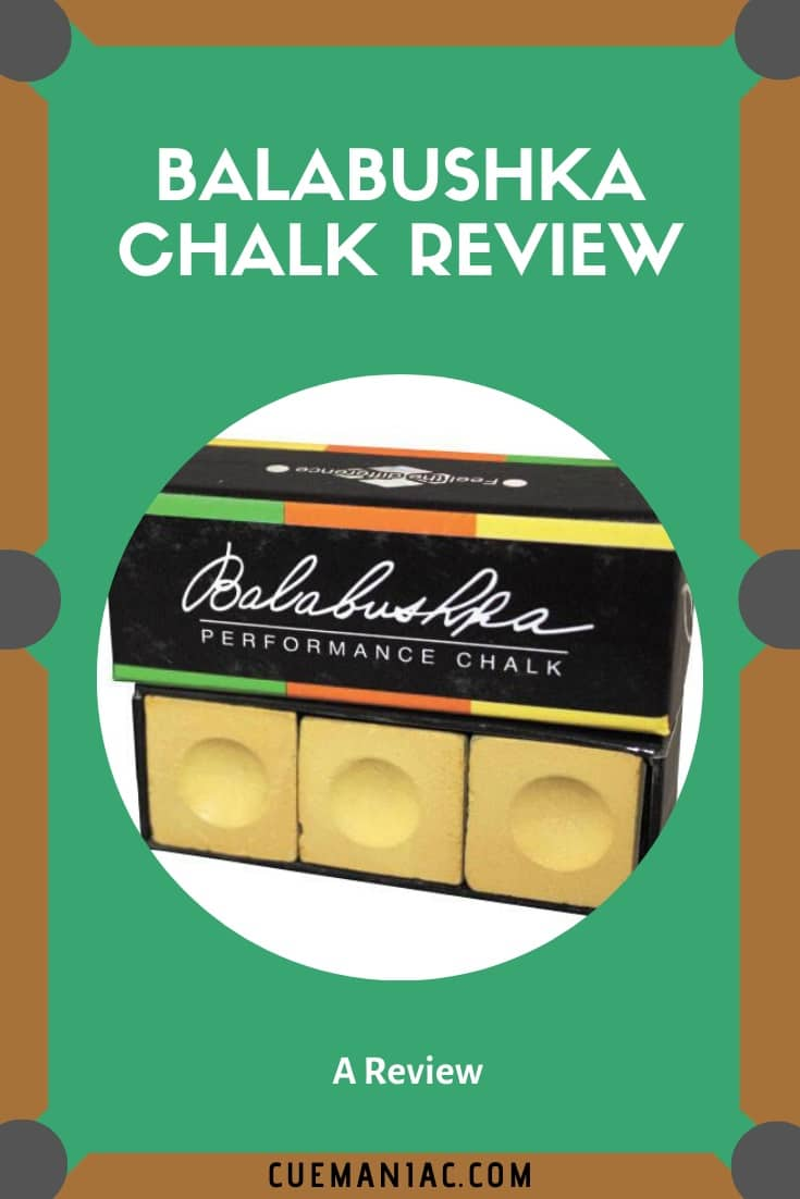 Balabushka Chalk Review by CueManiac
