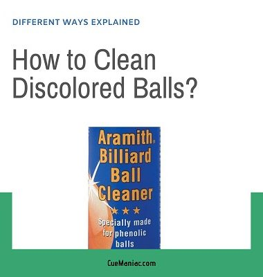 How to Clean Discolored Balls featured