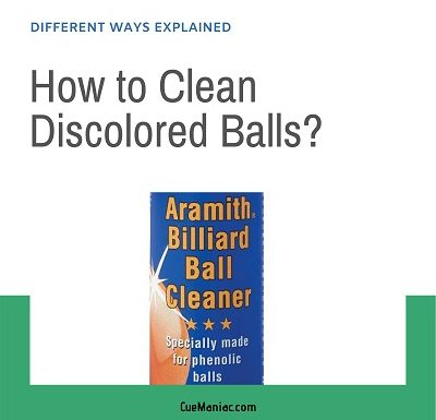 How to Clean Discolored Balls? [3 Different Ways]