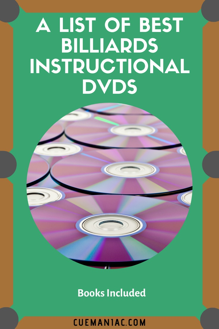 A List of Best Billiards Instructional DVDs by Cue Maniac