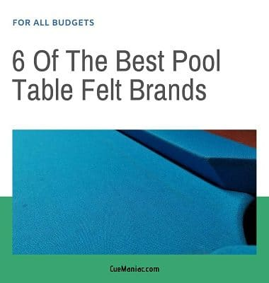 6 Of The Best Pool Table Felt Brands featured